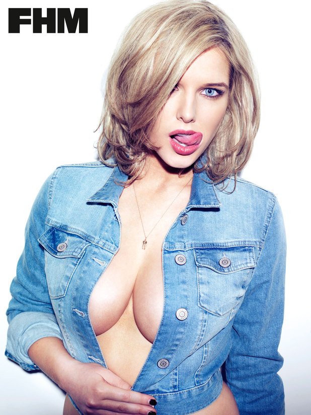 Helen Flanagan appears in FHM Magazine