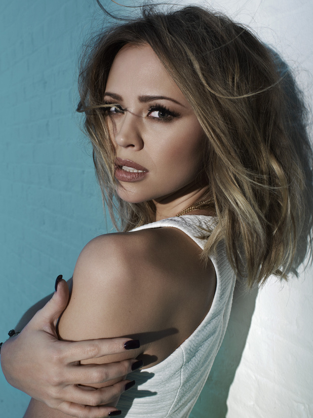 Kimberley Walsh photo shoot for Cosmopolitan Feb 2013