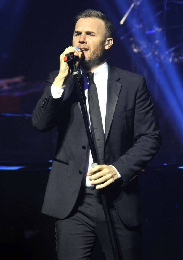 Gary Barlow performing Live at the New Theatre, Oxford for his sellout New Year's Eve concertFeaturing: Gary Barlow