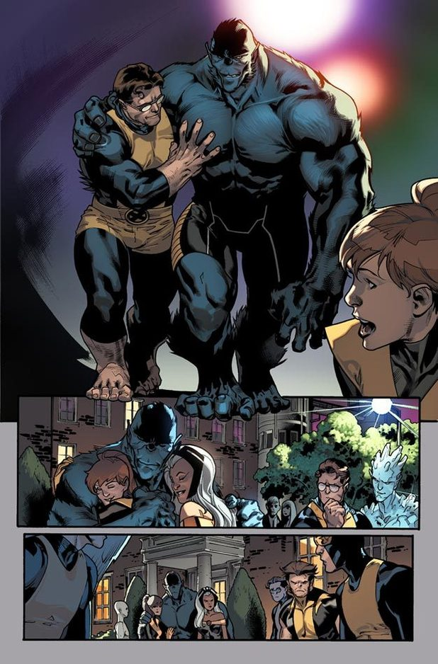 'All New X-Men' #5 featuring Beast