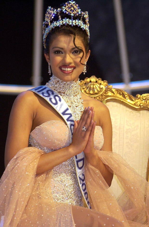 Previous Priyanka Chopra as Miss India in 2000 at the age of 18