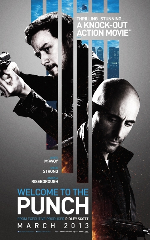Welcome To The Punch new poster