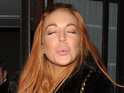 "Lohan's The Canyons co-star says she ""has unique way of communicating""."