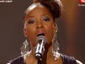 The singer makes a surprise comeback on the talent show.