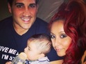 "Nicole 'Snooki' Polizzi says baby son Lorenzo is ""happy"" most of the time."