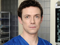 Jonny is unable to forgive Jac in Holby City next week.
