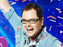 Who will be joining Alan Carr on the bill at this year's charity fundraiser?