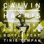 Calvin Harris 'Drinking From The Bottle' artwork