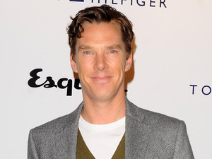 attends the Tommy Hilfiger and Esquire fashion party at the Zetter Townhouse, London, Benedict Cumberbatch