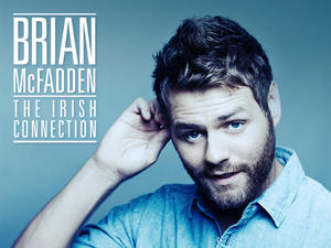 Brian McFadden &#39;The Irish Connection&#39; album artwork.