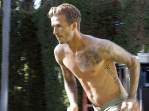 David Beckham, H&M range 