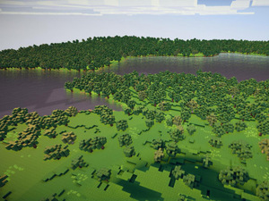 Planet Minecraft: Minecraft Player Attempts To Recreate Planet Earth in 1:1500 Scale