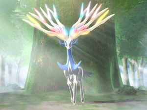 Pokemon X and Y legendary pokemons: Xerneas