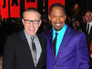 Django Unchained UK premiere: Jamie Foxx and Christoph Waltz