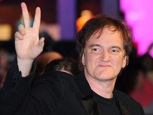 Django Unchained UK premiere: Quentin Tarantino