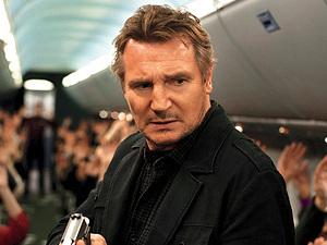 Liam Neeson in first 'Non-Stop' still
