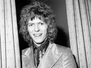 David Bowie photographed in February 1970.