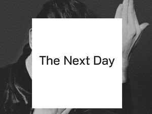 David Bowie: 'The Next Day' album artwork