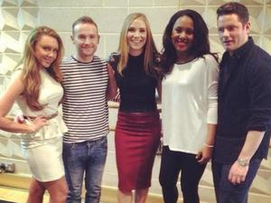 Liberty X pose together for The Big Reunion