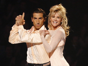 Dancing on Ice Week 2: Anthea and Andy.