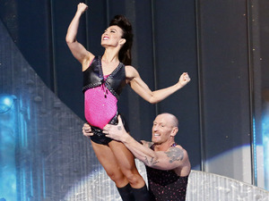 Dancing on Ice Week 2: Gareth Thomas and Robin Johnstone