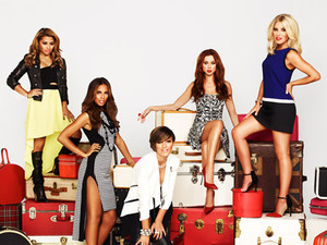 &#39;Chasing The Saturdays&#39; promo shoot