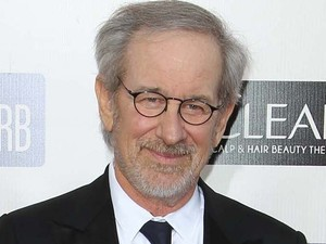 Steven Spielberg arriving at the 18th Annual Critics&#39; Choice Movie Awards held at Barker Hangar, California 
