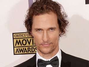 Matthew McConaughey arriving at the 18th Annual Critics' Choice Movie Awards held at Barker Hangar, California