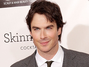 Ian Somerhalder arriving at the 18th Annual Critics' Choice Movie Awards held at Barker Hangar, California