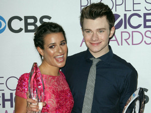 39th Annual People's Choice Awards at Nokia Theatre L.A. Live - Press Room: Lea Michele, Chris Colfer