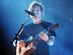 Ed Sheeran performs live at the O2 Arena for the first of his three sold out shows this weekend