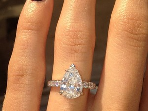 Jason Wahler engagement ring photo, Instagram