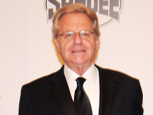 Jerry Springer arrives at the Fighters Only World Mixed Martial Arts Awards in Las Vegas.