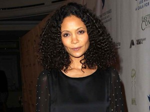 Thandie Newton suuports Cinema For Peace Foundation's 2013 Gala For Humanity.