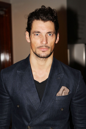 Celebrities attend the Harvey Nichols Autumn/Winter 2013 preview Featuring: David Gandy Where: London, United Kingdom When: 06 Jan 2013 Credit: WENN.com