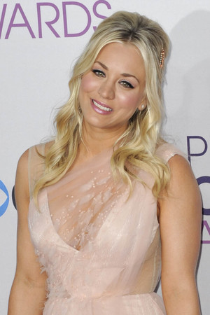 39th Annual People's Choice Awards at Nokia Theatre L.A. Live - Arrivals Featuring: Kaley Cuoco Where: Los Angeles, California, United States