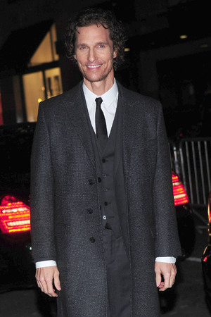 2012 New York Film Critics Circle Awards at Crimson - Outside Arrivals Featuring: Matthew McConaughey Where: New York City, NY, United States When: 07 Jan 2013