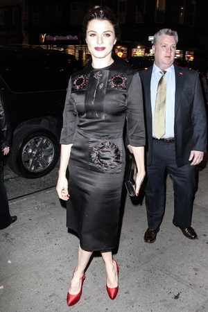 2012 New York Film Critics Circle Awards at Crimson - Outside Arrivals Featuring: Rachel Weisz Where: New York City, NY, United States When: 07 Jan 2013