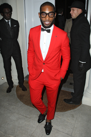 Celebrities leaving the London collections GQ Dinner held at Sketch restaurant Featuring: Tinie Tempah Where: London, England