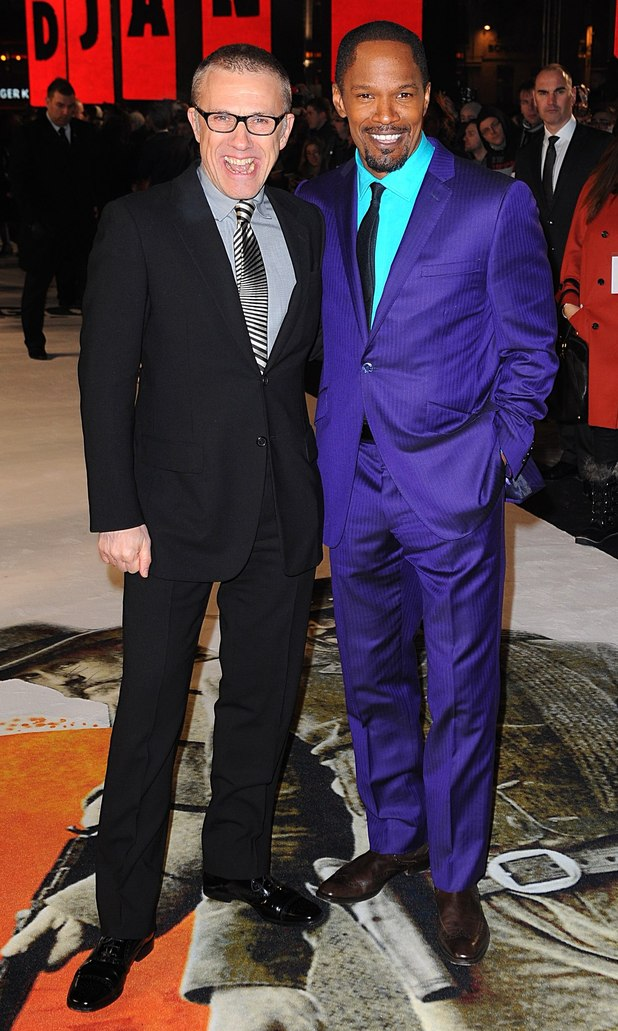 Jamie Foxx and Christoph Waltz