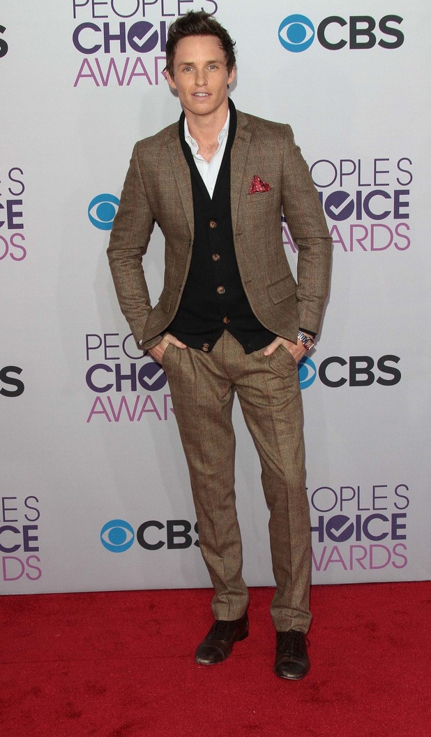 Eddie Redmayne, 39th Annual People's Choice Awards
