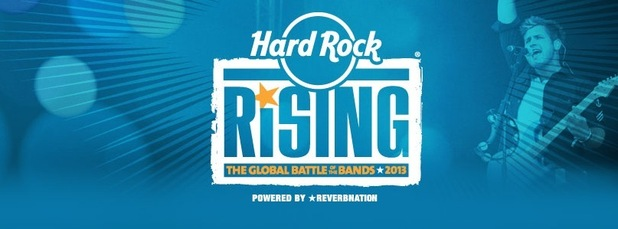 Hard Rock Rising 2013 logo.