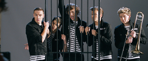 One Direction's new video 'Kiss You'