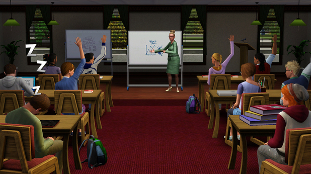 The Sims 3: University Life screenshots