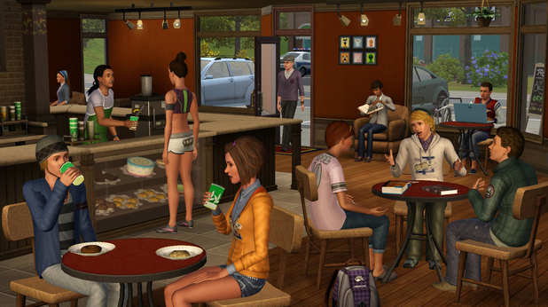 'The Sims 3: University Life' screenshot