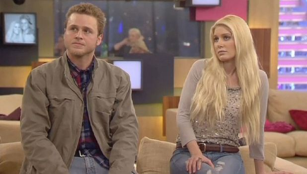Heidi Montag and Spencer Pratt on Celebrity Big Brother