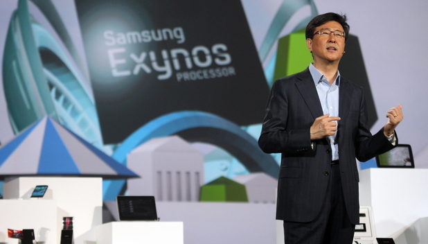 Eight core Exynos processor unveiled by Samsung's Stephen Woo