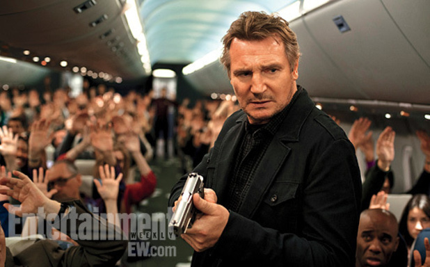 Liam Neeson in first 'Non-Stop' still