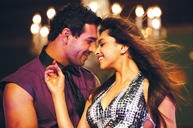 John Abraham and Deepika Padukone in Desi Boyz