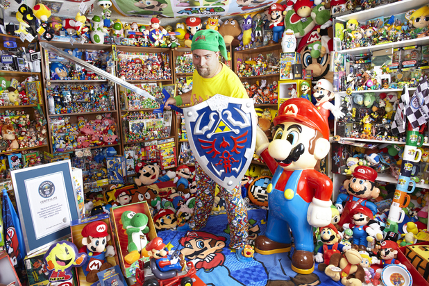 Largest Collection of Videogame Memorabilia in Guinness World Records 2013 Gamer's Edition